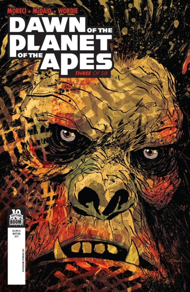 Dawn Of Planet Of Apes #3