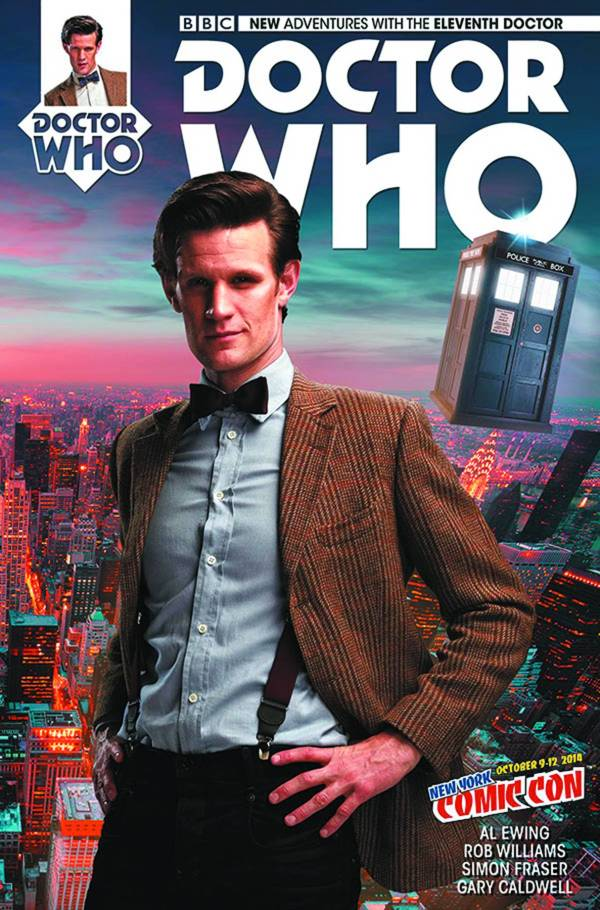 Doctor Who 11th #1 NYCC Exclusive 2015