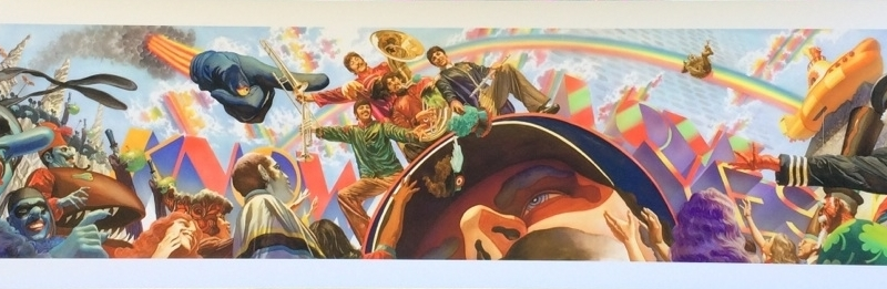 The Beatles: Yellow Submarine Prints by Alex Ross