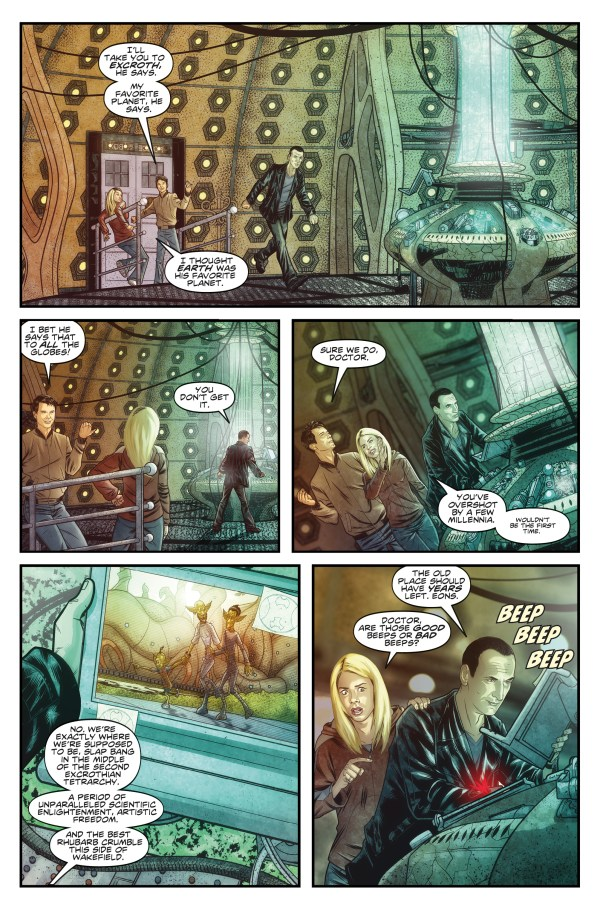 Doctor Who: The Ninth Doctor #1 - Sample 1