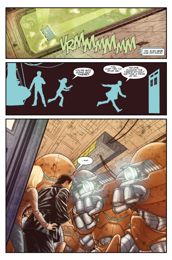 Doctor Who: The Ninth Doctor #1 - Sample 3