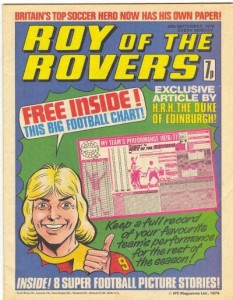 Roy of the Rovers Comic
