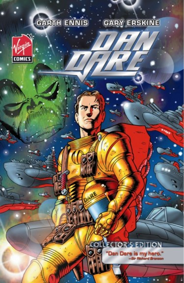 Dan Dare Oversized Hard Cover (Virgin Comics)