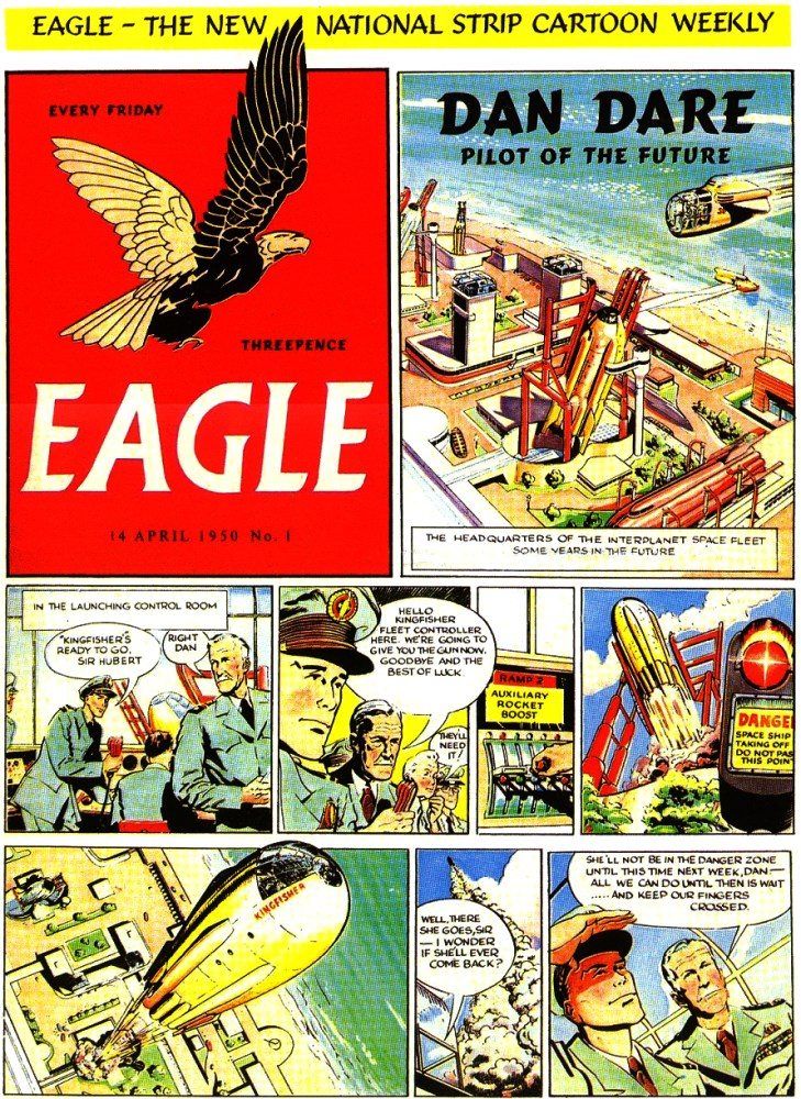 Eagle Issue 1, Volume 1 - Cover