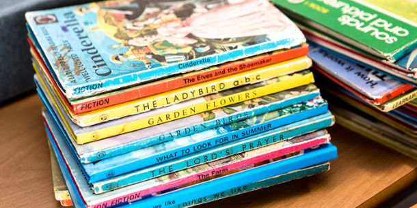 Ladybird Books re-imagined by London College of Communication School of Design students