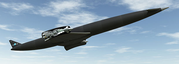 SKYLON is an unpiloted, reusable spaceplane intended to provide reliable, responsive and cost effective access to space. Currently in early development phase, the vehicle will be capable of transporting 15 tonnes of cargo into space. It is the use of SABRE's combined air-breathing and rocket cycles that enables a vehicle that can take off from a runway, fly direct to earth orbit and return for a runway landing, just like an aircraft. Image: Reaction Engines Ltd.