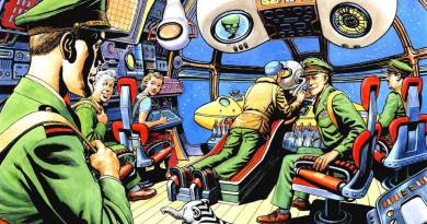 Spaceship Away Issue 35 - Centrespread