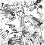 Work in progress cover for Star Wars #8