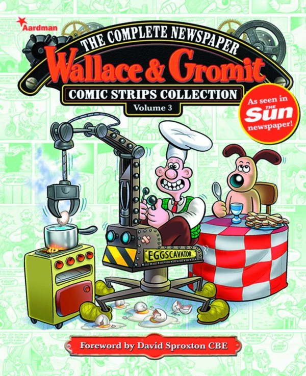 Wallace & Gromit Newspaper Strips Hard Cover Volume 3