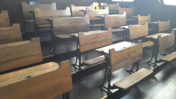 Unconference 2015: Desks. Photo: Lydia Wysocki