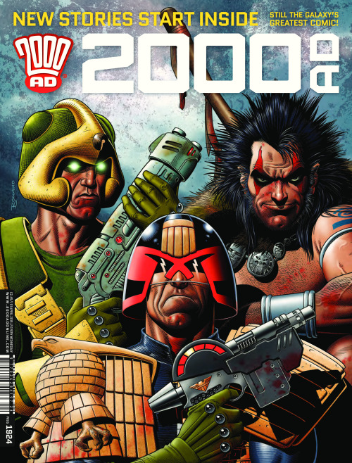 British Comic Shop Releases (1st April 2015) – Jump On Board 2000AD and The Ninth Doctor!