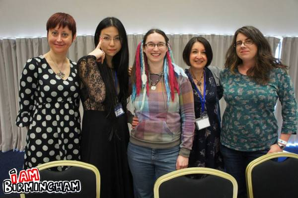 Talent wins out: Julie Pickering, Sonia Leong, Kat Nicholson, Jessica Martin and Laura Howell