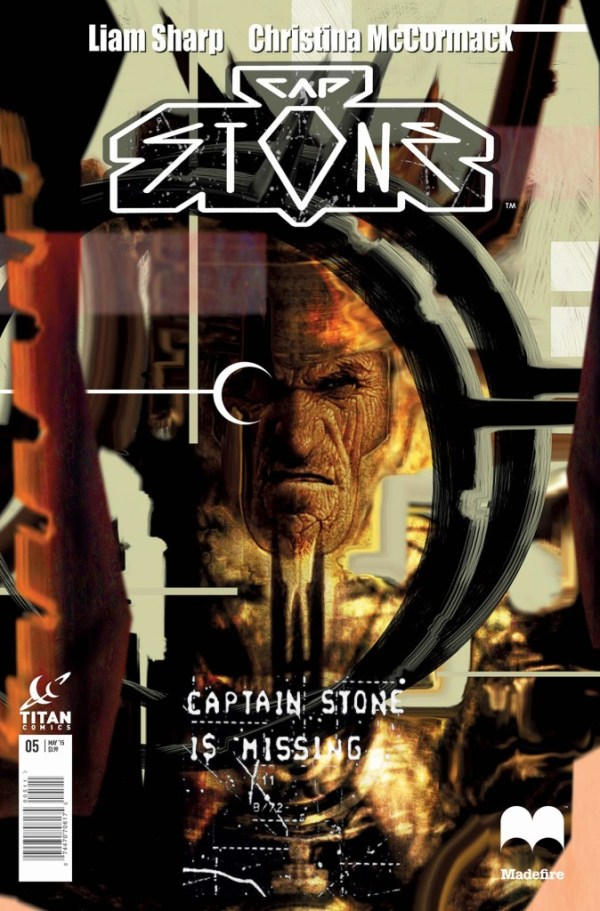 Captain Stone #5 - Cover