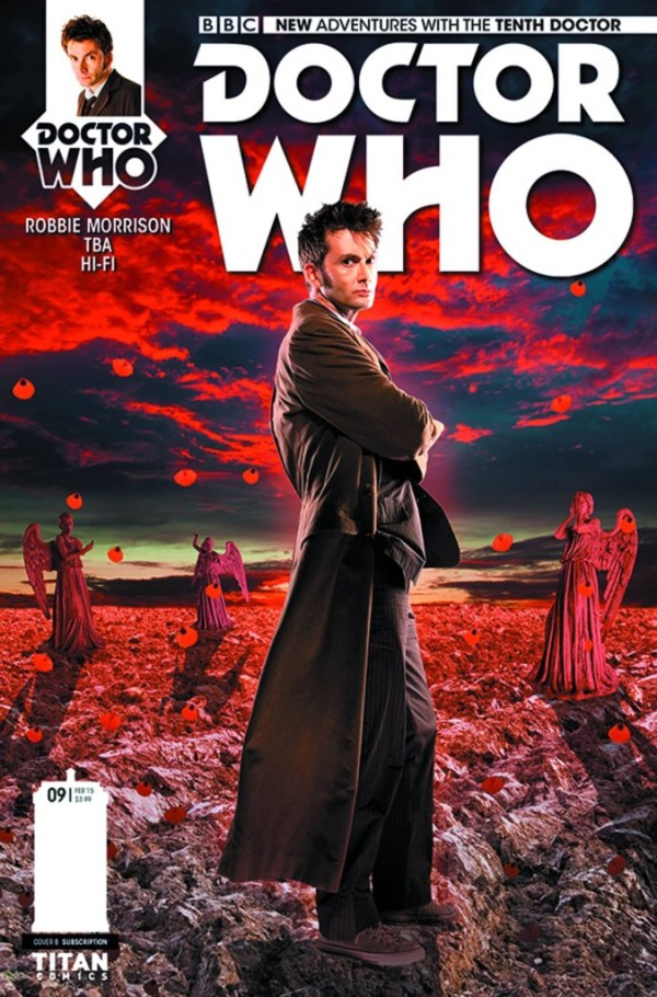 Doctor Who 10th Doctor #9 - Cover B