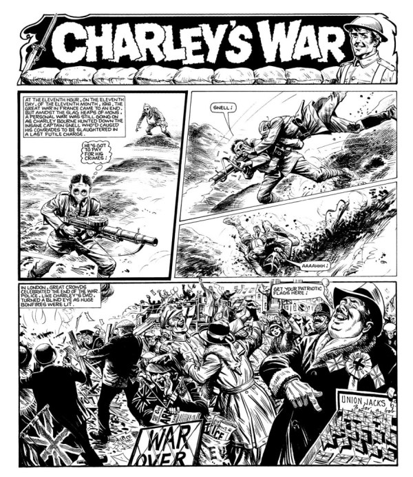 World War One draws to a close - but as London celebrates, Charley is still fighting...