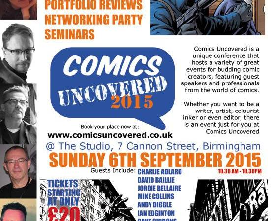 """""""Comics Uncovered"""" to offer aspiring creators tips on breaking Into the comics industry"""