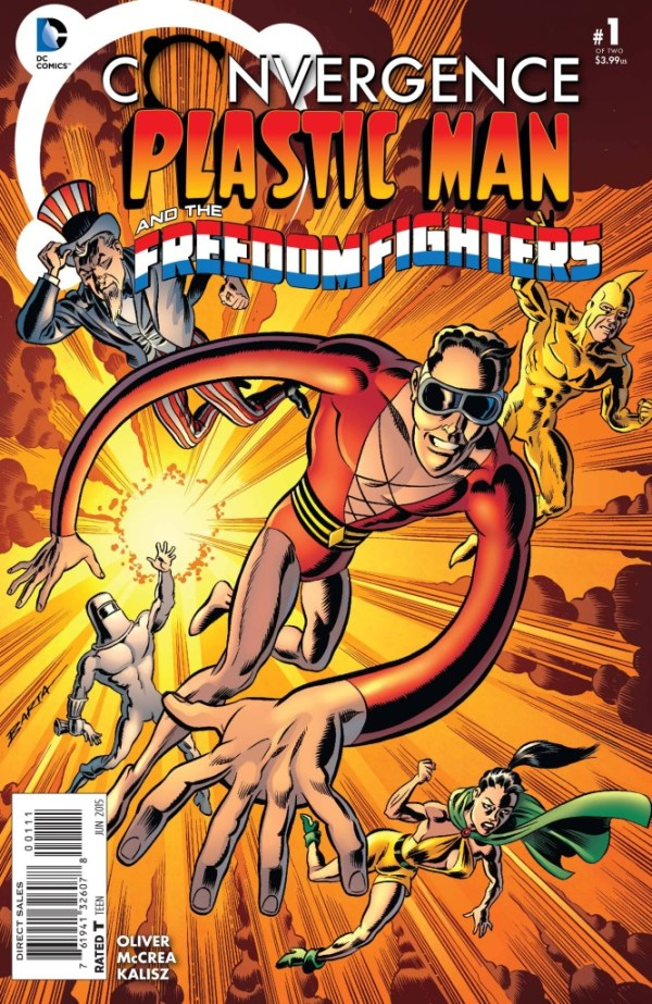 Convergence Plastic Man Freedom Fighters #1