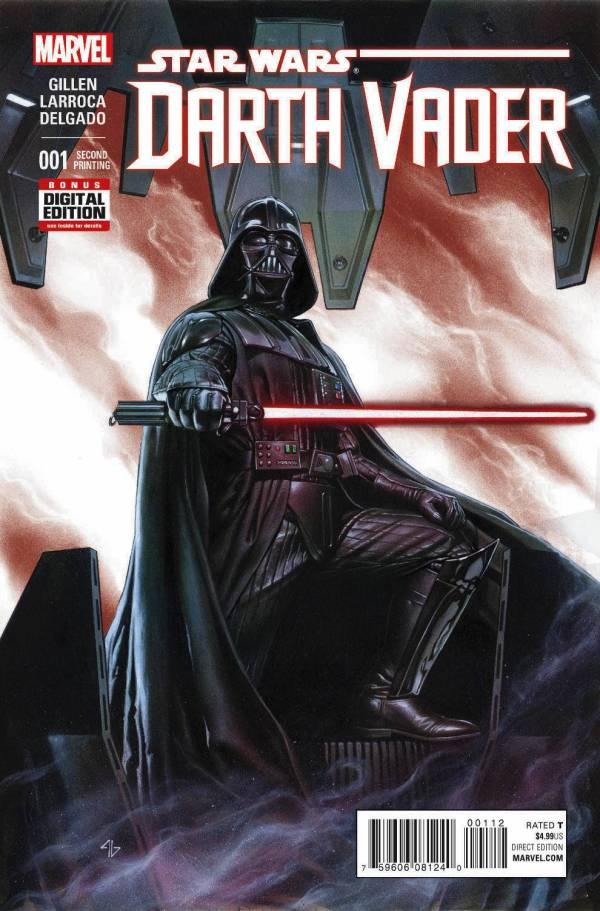 Darth Vader #1 Granov - Second Printing Variant