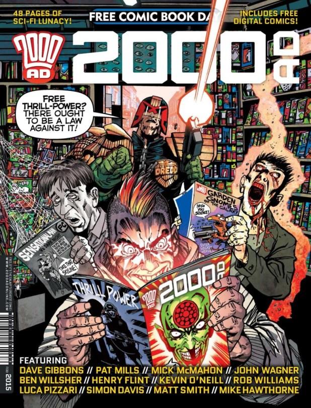 Free Comic Book Day 2015 - 2000AD