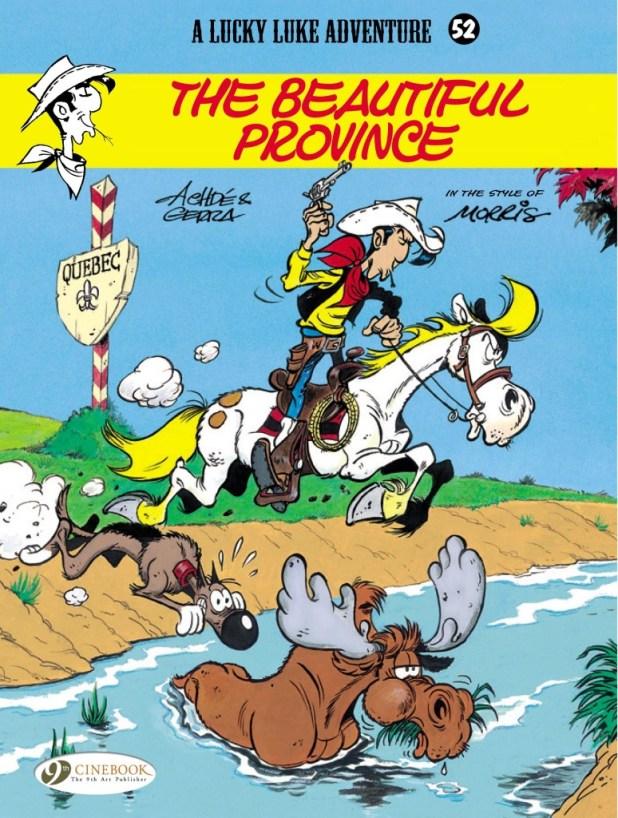 Lucky Luke Trade Paperback Volume 52: Beautiful Province