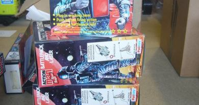 Action Man Astronaut: Battle Pack and Laser