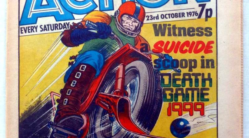 Action Issue 37 - Cover dated 23rd October 1976