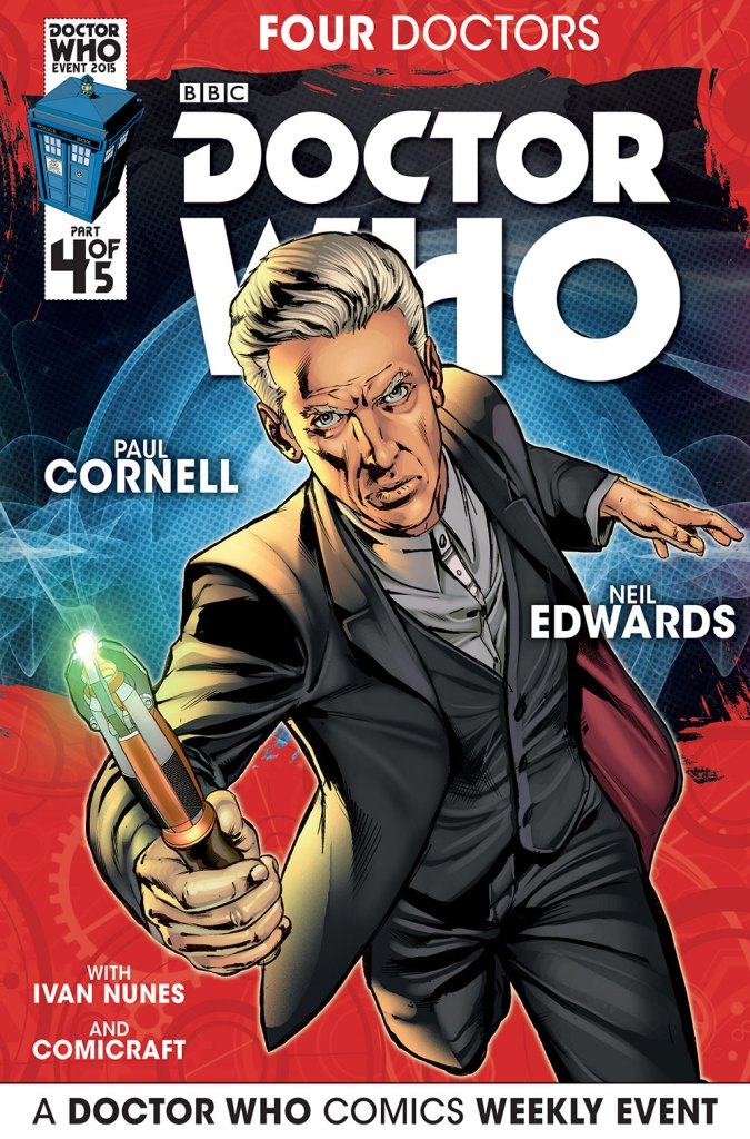Doctor Who: Four Doctors - Cover A4