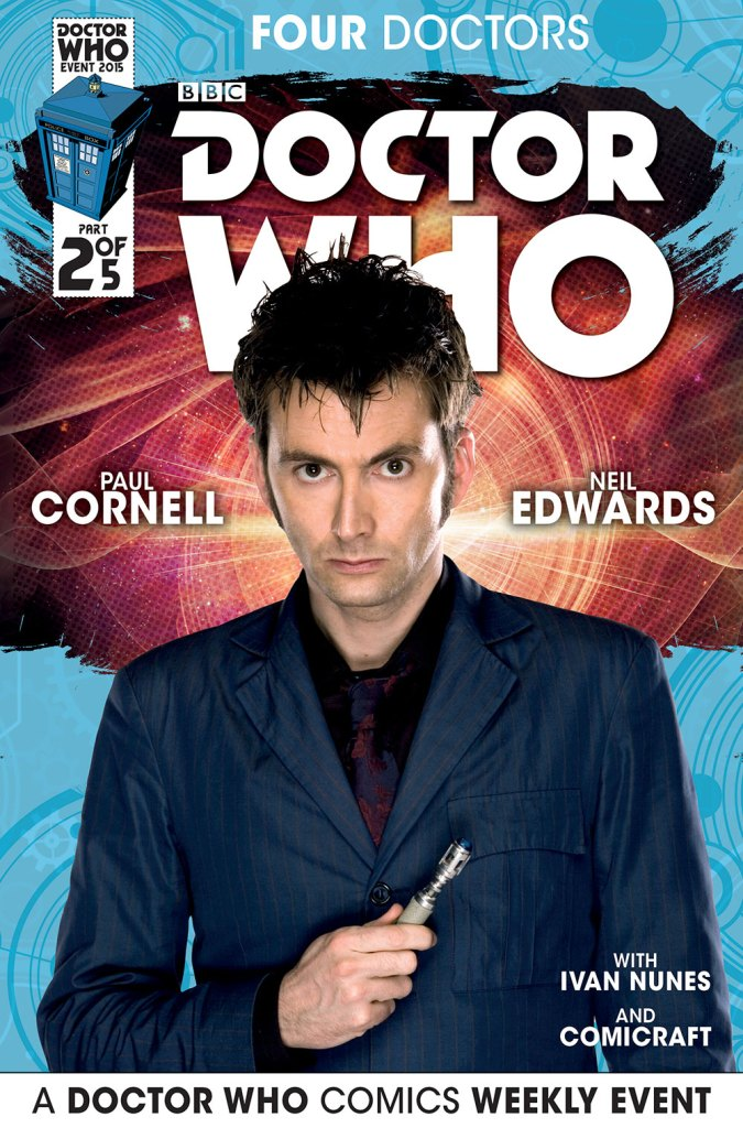 Doctor Who: Four Doctors - Cover B2