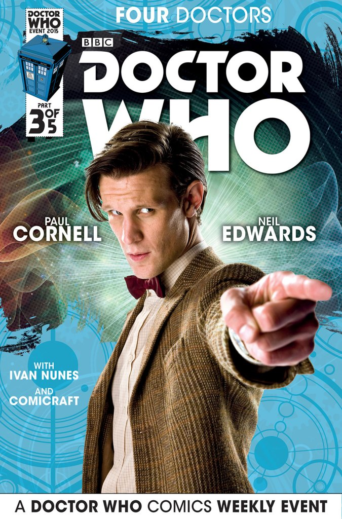 Doctor Who: Four Doctors - Cover B3