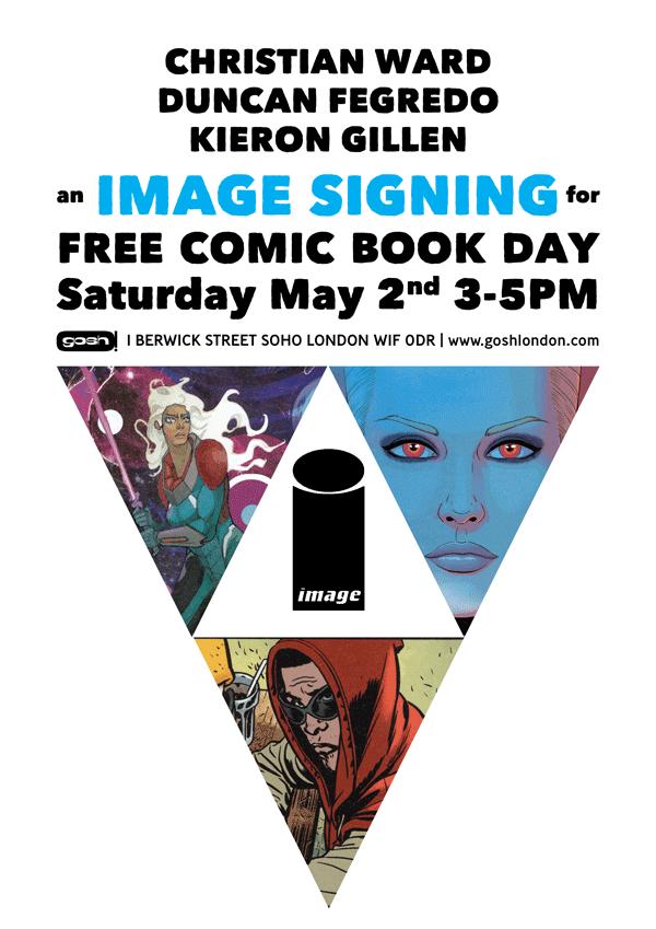 Free Comic Book Day 2015 - GOSH London (Image)