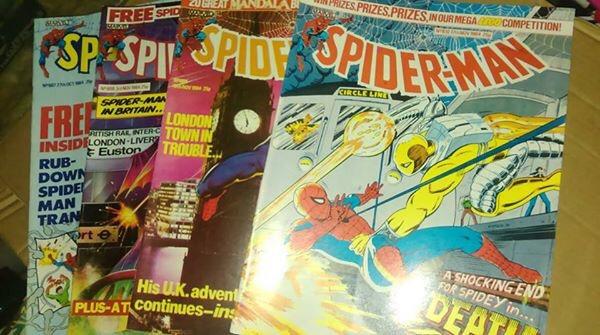 Marvel UK Spider-Man Comics