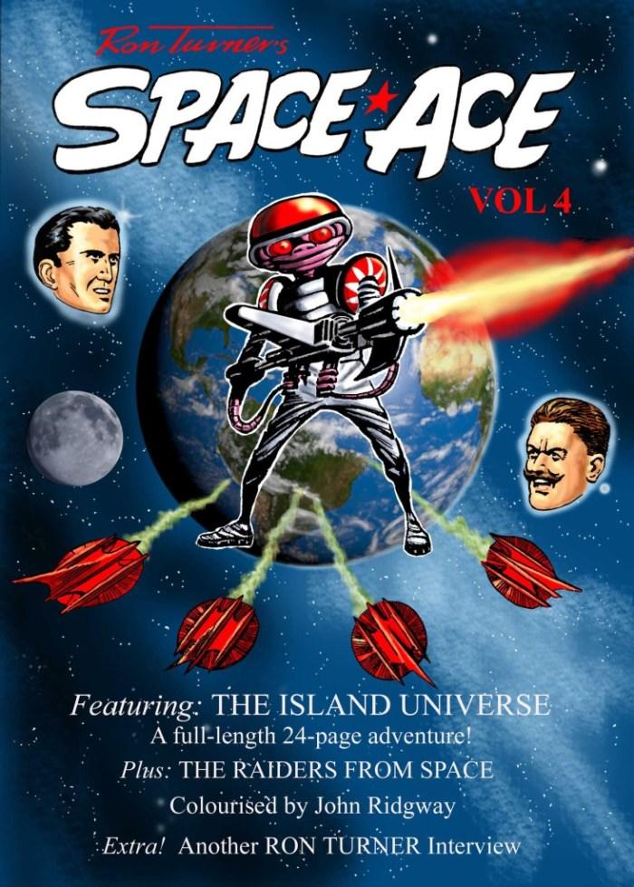 Space Ace Volume 4 - Cover