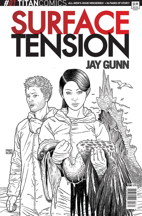 Surface Tension #1 -Cover C
