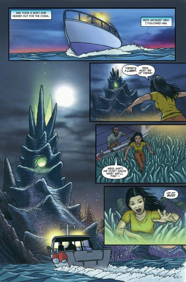 Surface Tension #1 - Sample Page
