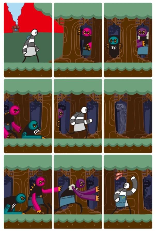 DTHRTL (Death Rattle) - Sample Page 1