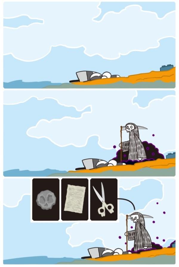 DTHRTL (Death Rattle) - Sample Page 2