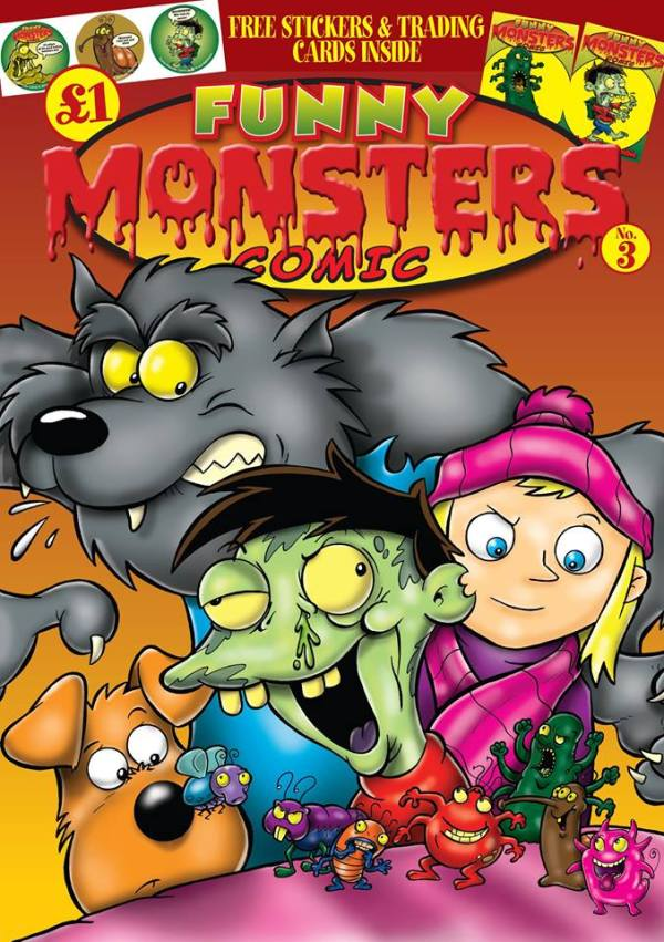 Funny Monsters Comic Issue 3