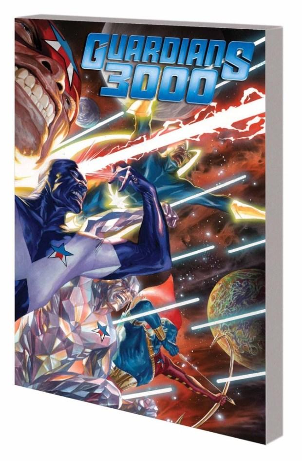 Guardians 3000 Trade Paperback Volume 1 Time After Time
