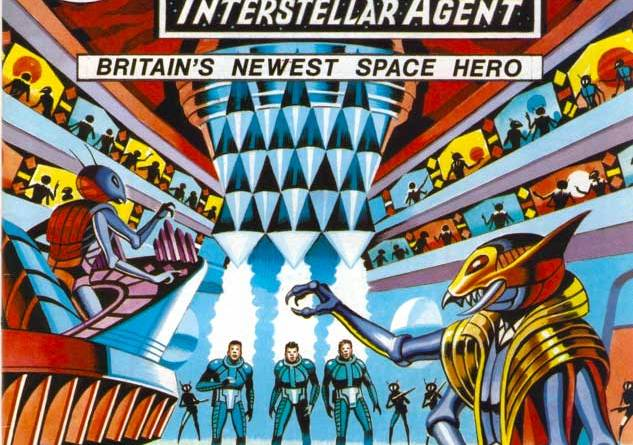 Harrier Comics presents Nick Hazard Interstellar Agent