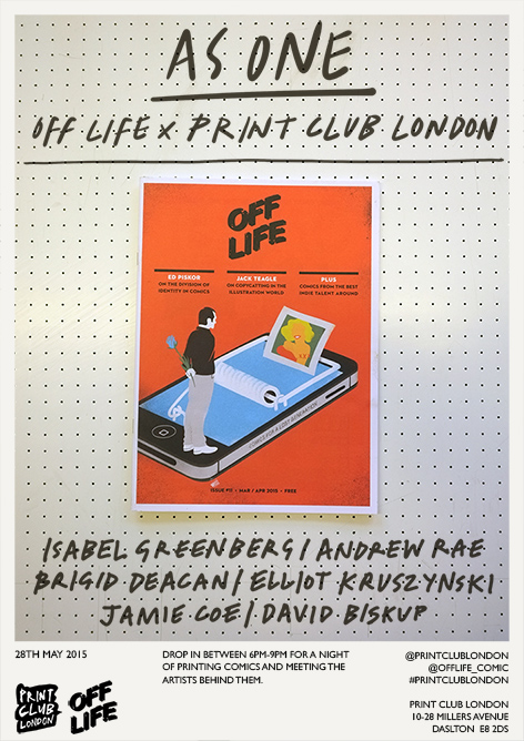 OFF LIFE As One Poster