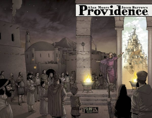 Providence #1 - Wrap Cover