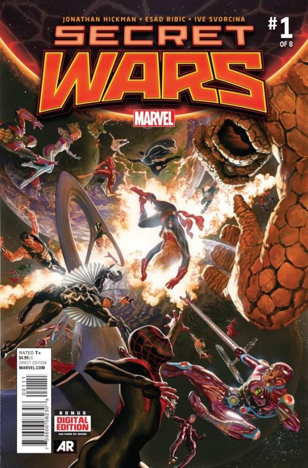 Secret Wars #1 - 2015