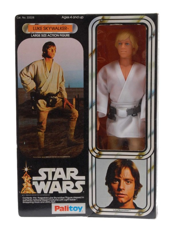 "Palitoy 12"" Luke Skywalker figure"