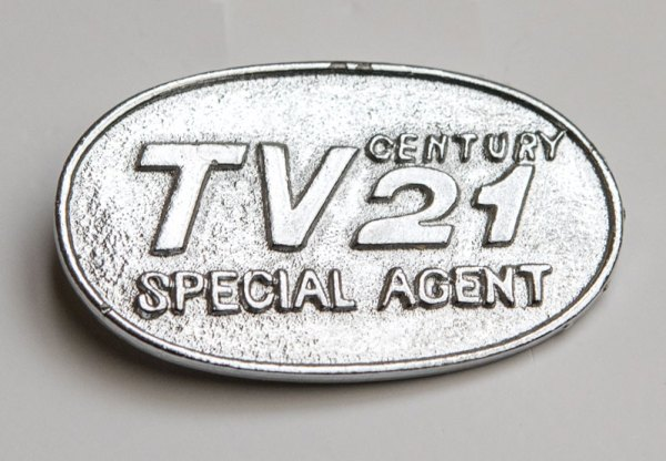 TV Century 21 Special Agent Badge, the free gift from No 2. As new £20-30