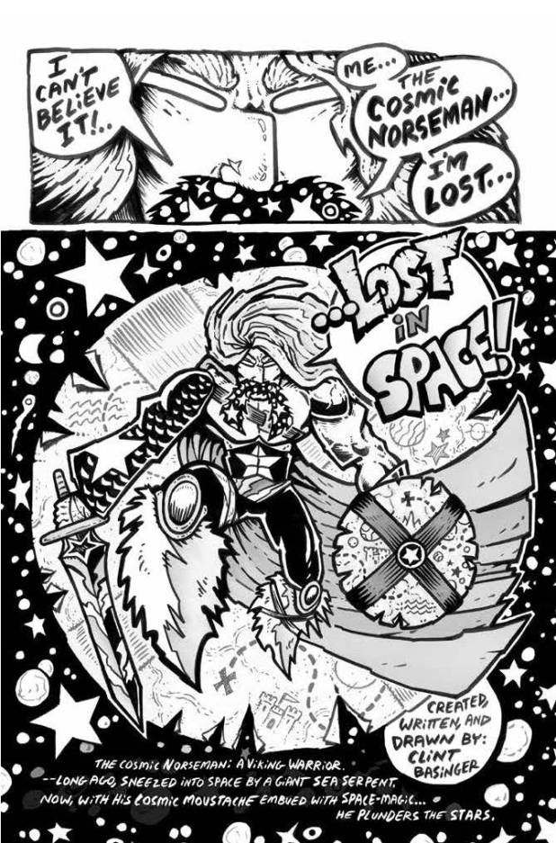 Lost in Space Anthology - The Cosmic Norseman in Lost in Space by Clint Basinger