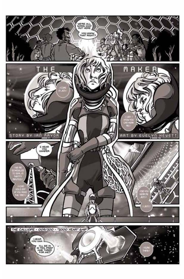 Lost in Space Anthology - The Maker by Evelyn Hewett & Ian Mayor