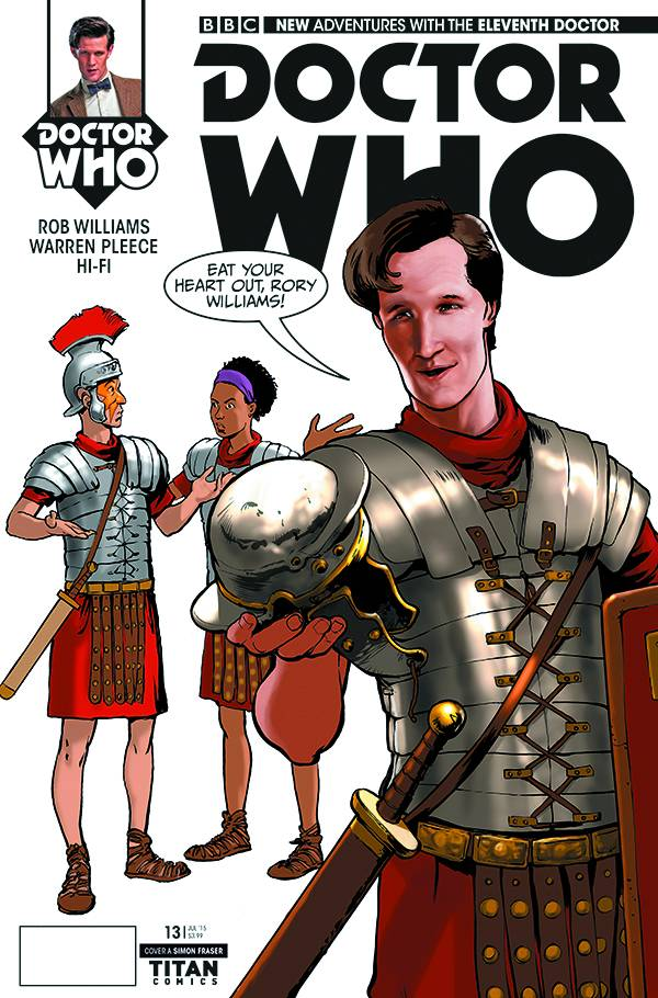Doctor Who 11th #13 Cover A