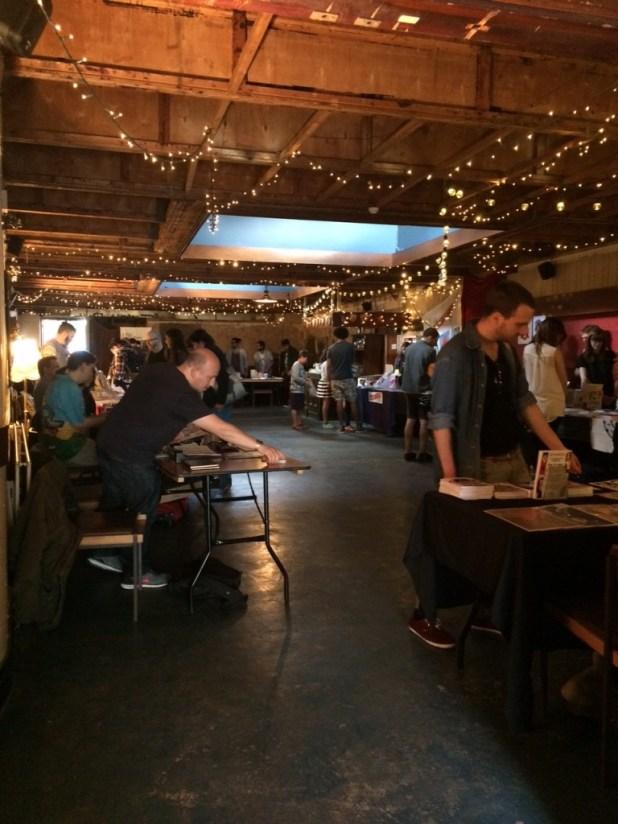 Crouch End Comic Arts Festival 2015. Photo: Antony Esmond