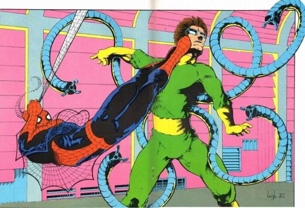 Spider-Man versus Doc Ock by Leigh Baulch