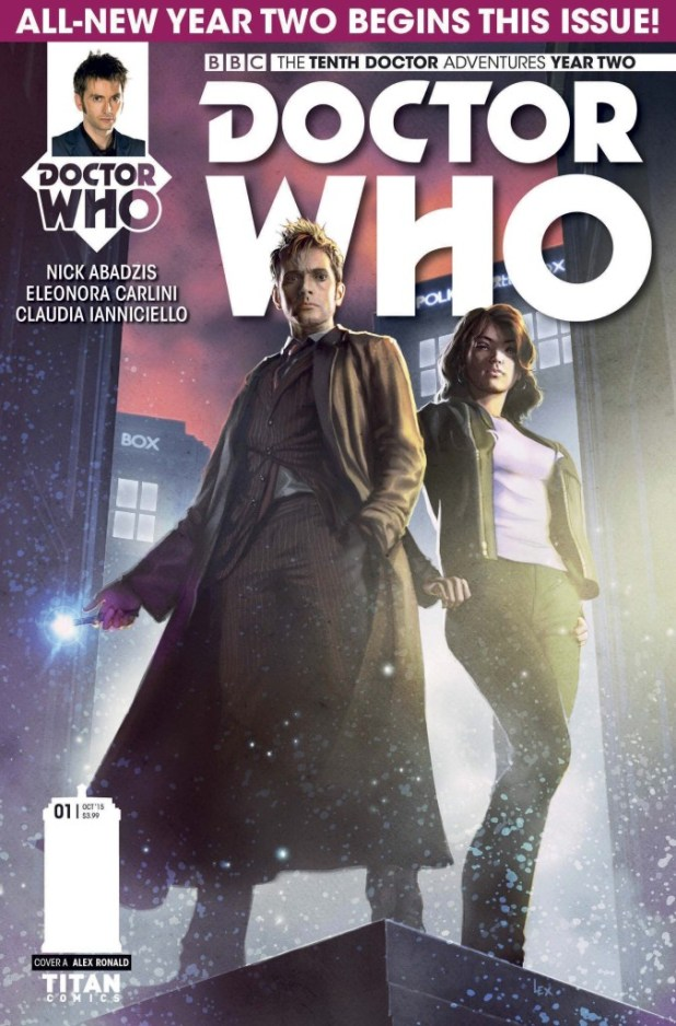 Doctor Who: The Tenth Doctor: Year Two #1 - Cover A